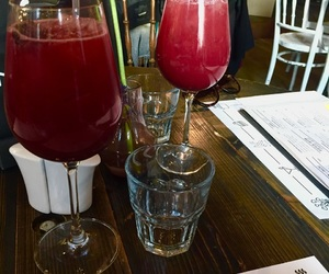 berries, weekend, and aperol spritz image