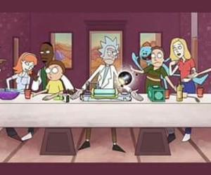 cena, series, and rick and morty image