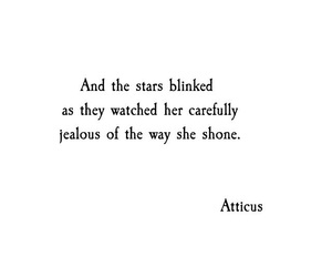 quotes, atticus, and stars image