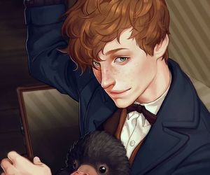 newt and newt scamander image