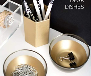 d.i.y, dishes, and desk image