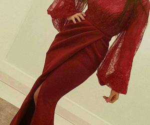 evening gown, fashion, and style image