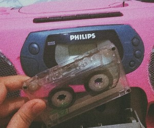 90s, pink, and retro image