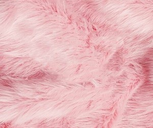 faux fur, pink, and wallpaper image