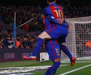 Barcelona, lionel messi, and neymar jr image
