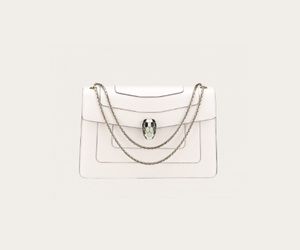 bag, white, and serpenti image