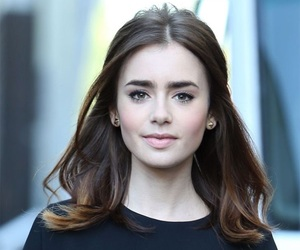 lily collins and beauty image