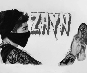 zayn malik and art image