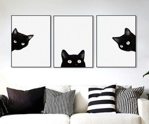 cats, design, and deco image
