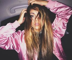 pink, girl, and andrea russett image