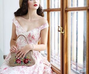 vintage, dress, and fashion image