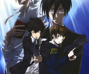 anime, psycho pass, and manga image