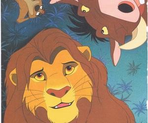 simba, disney, and movie image