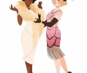 disney, tiana, and charlotte image