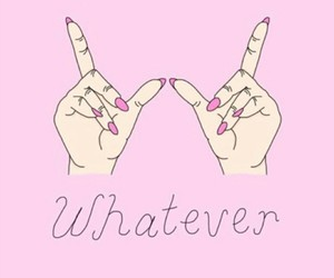 whatever, pink, and wallpaper image