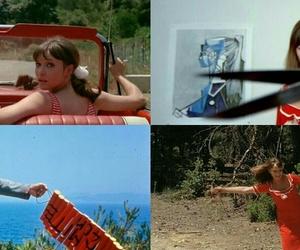 anna karina, film, and godard image
