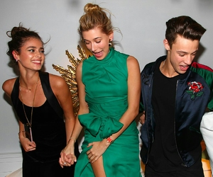 beauty, taylor hill, and cameron dallas image