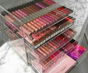 maquillaje, Lipsticks, and make up image