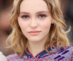 makeup and lily-rose depp image