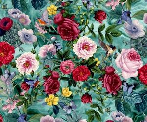 background, birds, and botanical image