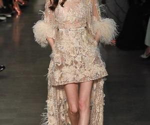 elie saab, dress, and model image