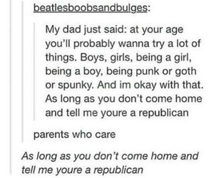 lgbt+ and my parents tho image