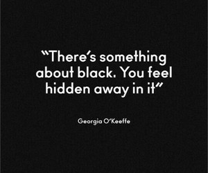 black, quote, and hidden image