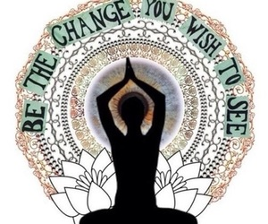 change, quotes, and yoga image