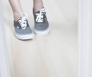 black, grey, and shoes image
