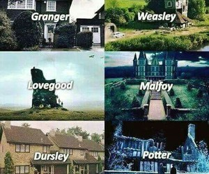 harry potter, lovegood, and malfoy image