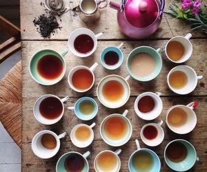 coffee, elegant, and tea image