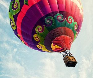 air, balloons, and fly image