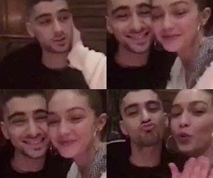couple, zayn malik, and zigi image