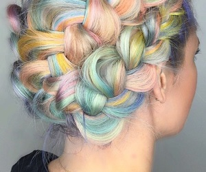 one day, pretty, and pastel hair image