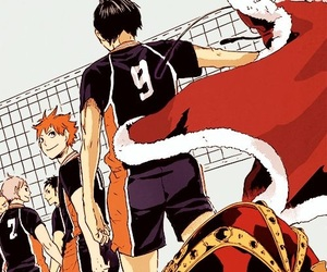 haikyuu, manga, and anime image
