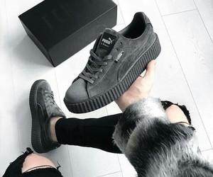 puma, shoes, and fashion image