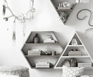 black & white, cocooning, and home image