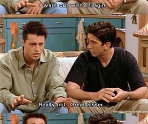 90s, ross geller, and tv show image