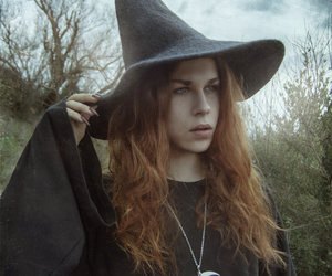 androgynous, folk, and forest image