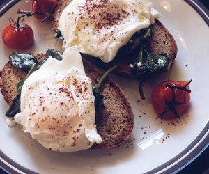 brunch, eggs, and food image
