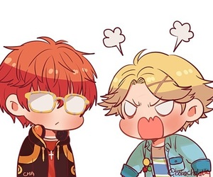 707, yoosung, and cute image