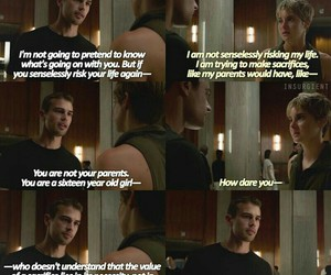 insurgent, fourtris, and divergentseries image