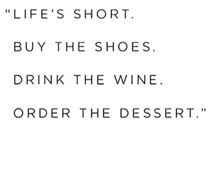 quote, food, and shoes image
