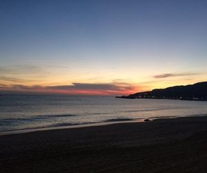 beach, travel, and erasmus image