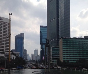 buildings, dark, and indonesia image