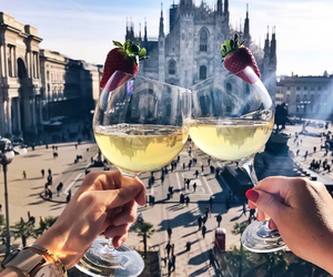 cheers, drink, and travel image