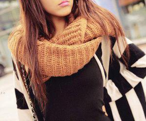 beautiful, clothes, and brunette image