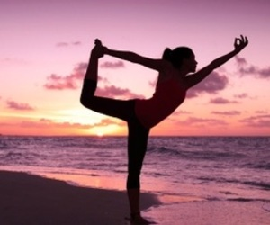 yoga, bliss, and peace image
