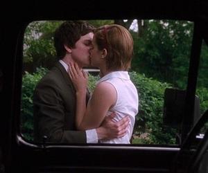 emma watson, logan lerman, and kiss image