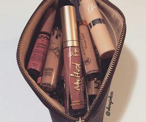 beauty, lip, and lipstick image